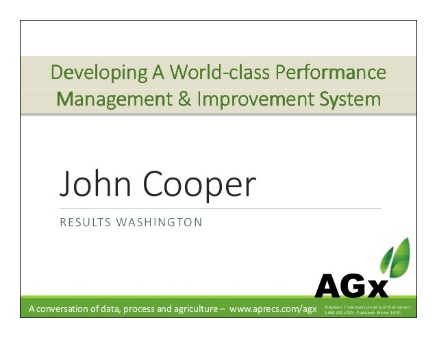 Developing a Quality Management System: The Foundation for Performance Excellence in Long Term Care