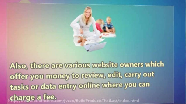 6 Amazingly Easy Ways To Make Money Online Work From Home