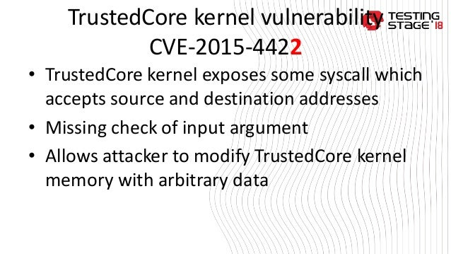 6 andrii grygoriev - security issues in arm trust zone software