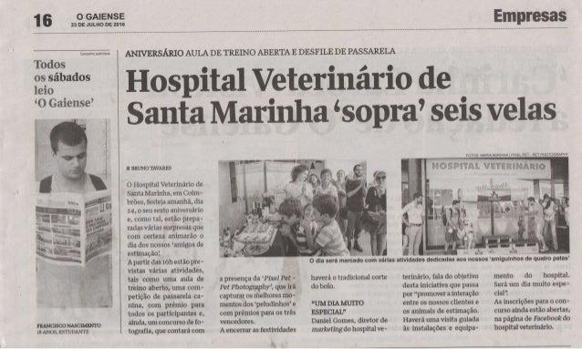 """Hospital Veterinário de Santa Marinha """"sopra"""" seis velas"""