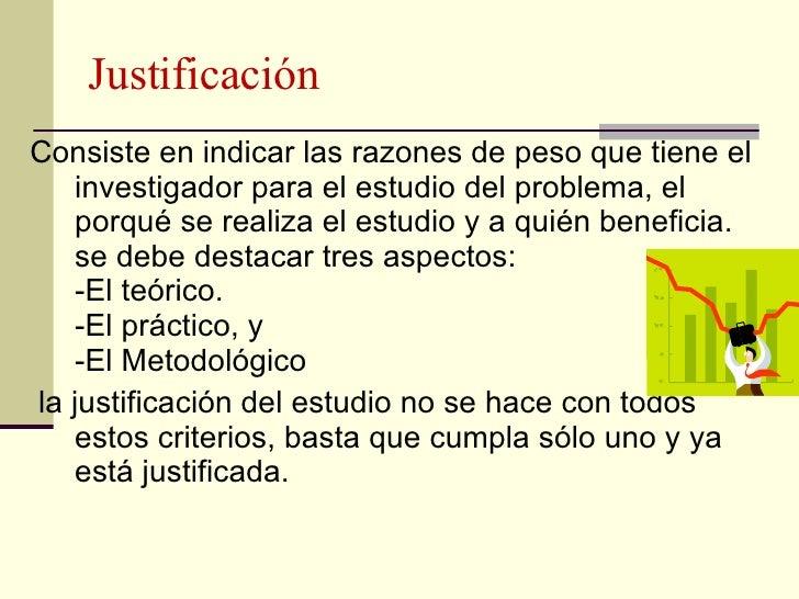 Antecedentes justificaci n de la investigaci n - Tres estudio ...
