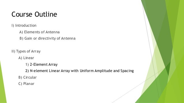 Array Antennas