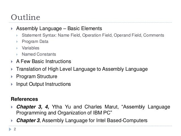 assembly language programming and organization of the ibm pc pdf download