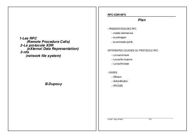 RPC-XDR-NFS                                                                     Plan                                      ...