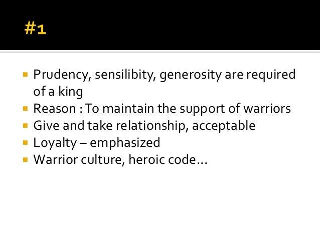 generosity in beowulf