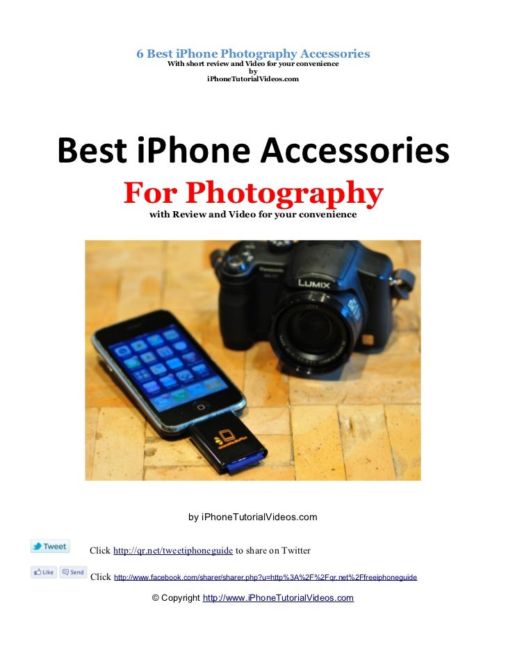 iPhone Photography Accessories