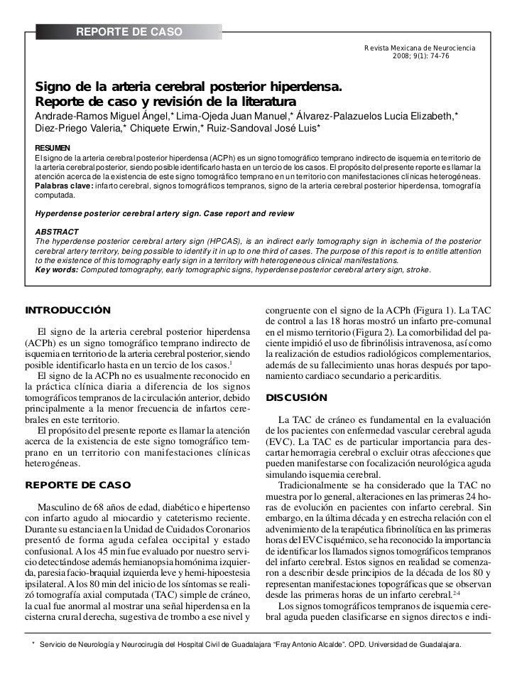 REPORTE DE CASO74                                                           Andrade-Ramos Miguel Ángel, et al. Signo de la...