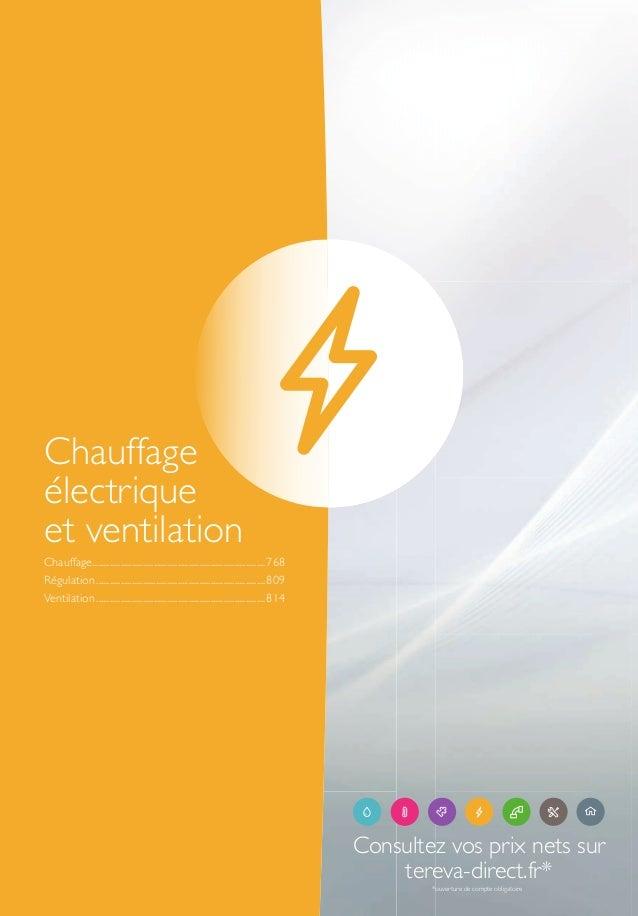Catalogue General 2017 Chauffage Electrique Et Ventilation