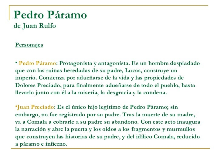 pedro paramo religion essays Disclaimer: free essays on culture and mythology posted on this site were donated by anonymous users and are provided for informational use only the free culture and mythology research paper (the novel pedro paramo and religion essay) presented on this page should not be viewed as a sample of our on-line writing service.