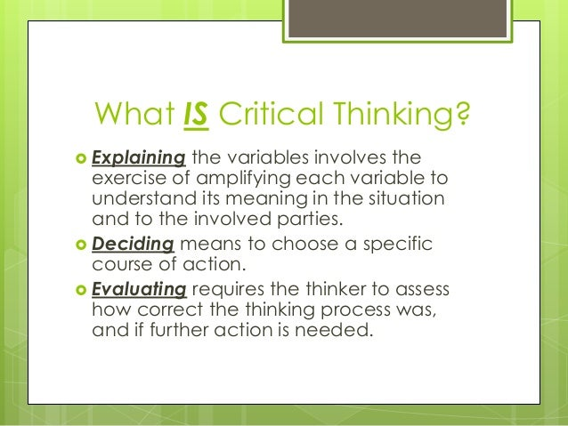 critical thinking skills in reading comprehension