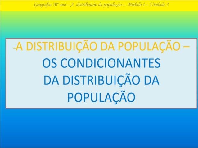 LITORALIZAÇÃO DESPOVOAMENTO BIPOLARIZAÇÃO