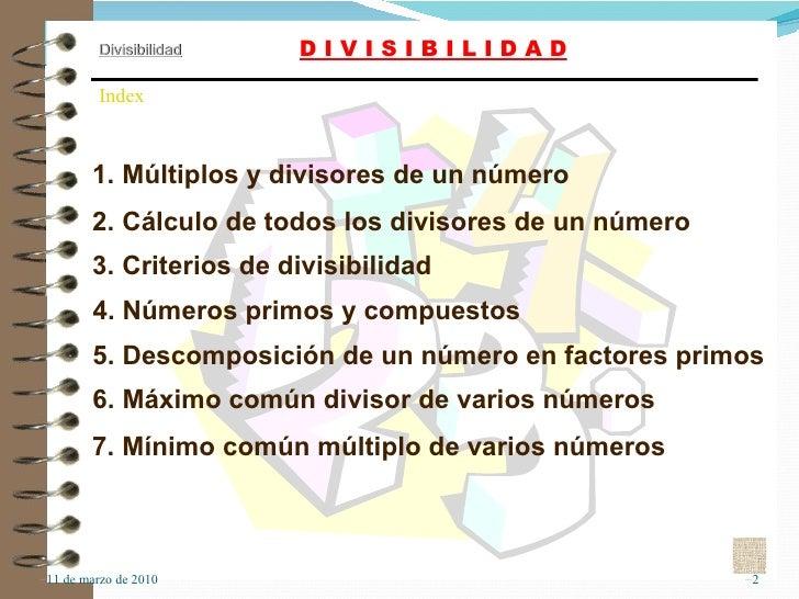 6  Divisibilidad Slide 2