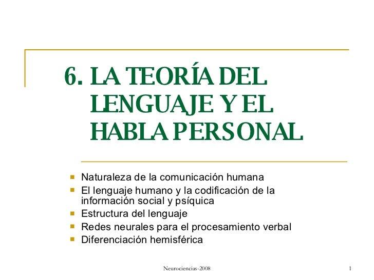 <ul><li>Naturaleza de la comunicación humana </li></ul><ul><li>El lenguaje humano y la codificación de la información soci...