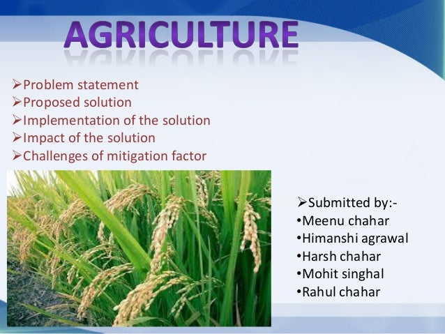 Problem statement Proposed solution Implementation of the solution Impact of the solution Challenges of mitigation fa...