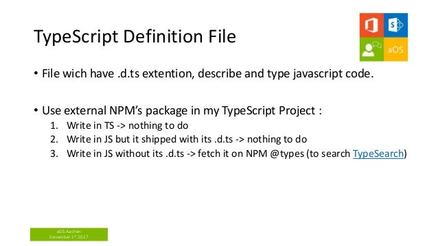 Enhance your Javascript with Typescript - Félix Billon