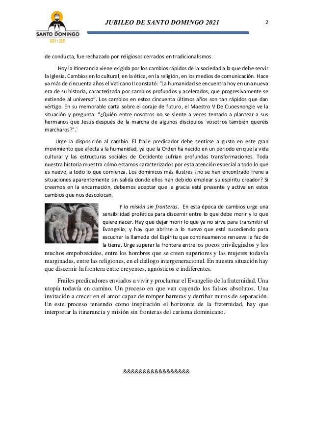 Frailes predicadores sin fronteras (Tras los pasos de Santo Domingo de Guzmán Nº 6) Slide 2