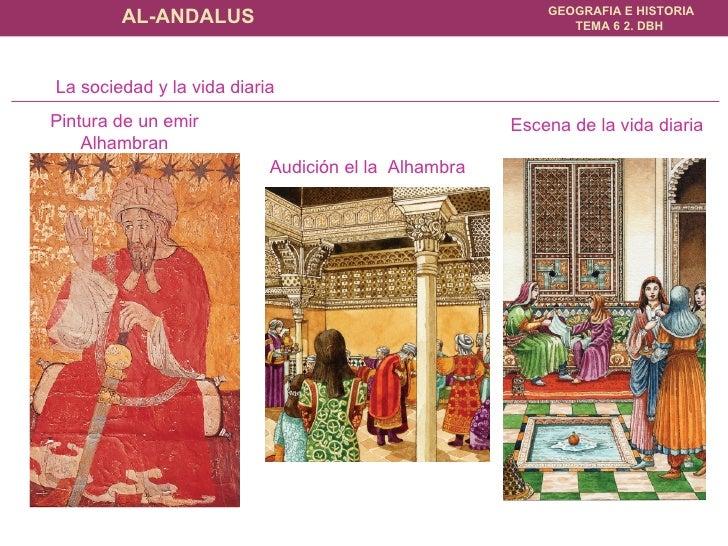 Pintura de un emir Alhambran La sociedad y la vida diaria Audición el la  Alhambra Escena de la vida diaria