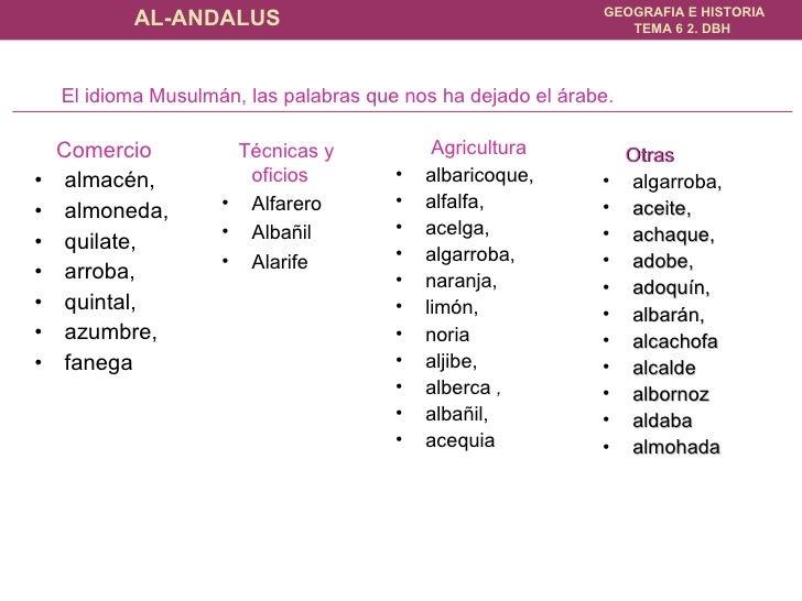 <ul><li>Comercio   </li></ul><ul><li>almacén,  </li></ul><ul><li>almoneda,  </li></ul><ul><li>quilate,  </li></ul><ul><li>...