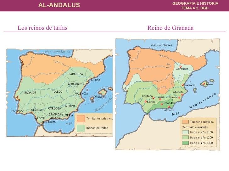 Los reinos de taifas  Reino de Granada