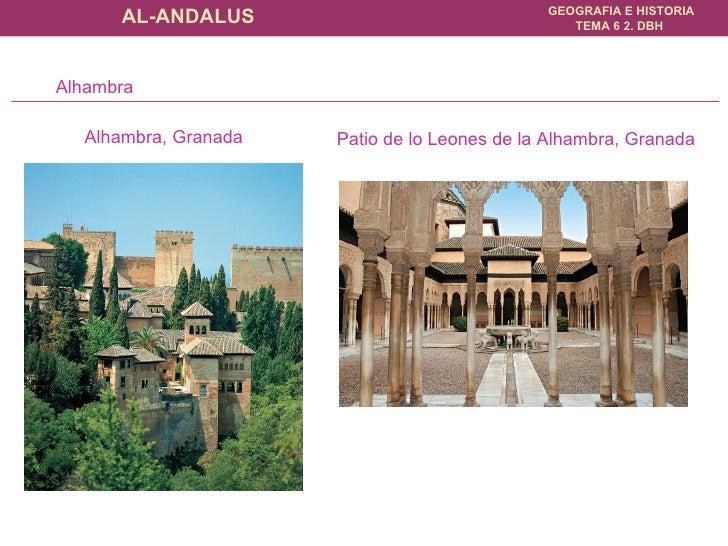 Alhambra, Granada Patio de lo Leones de la Alhambra, Granada Alhambra