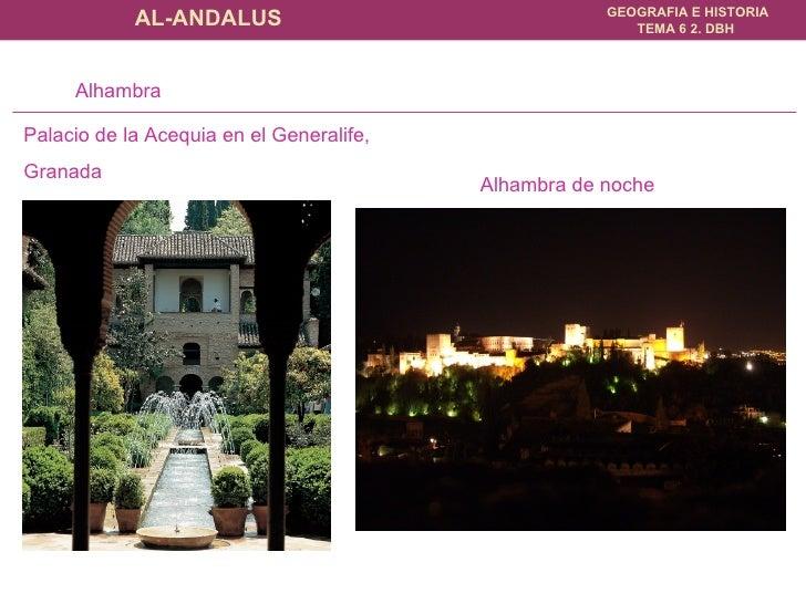 Alhambra de noche Alhambra Palacio de la Acequia en el Generalife,  Granada
