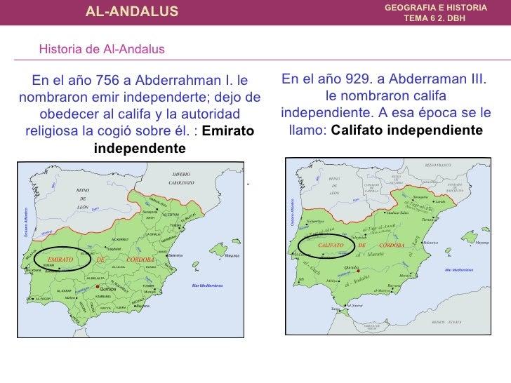 En el año 929. a Abderraman III.  le nombraron califa independiente. A esa época se le llamo:  Califato independiente En e...