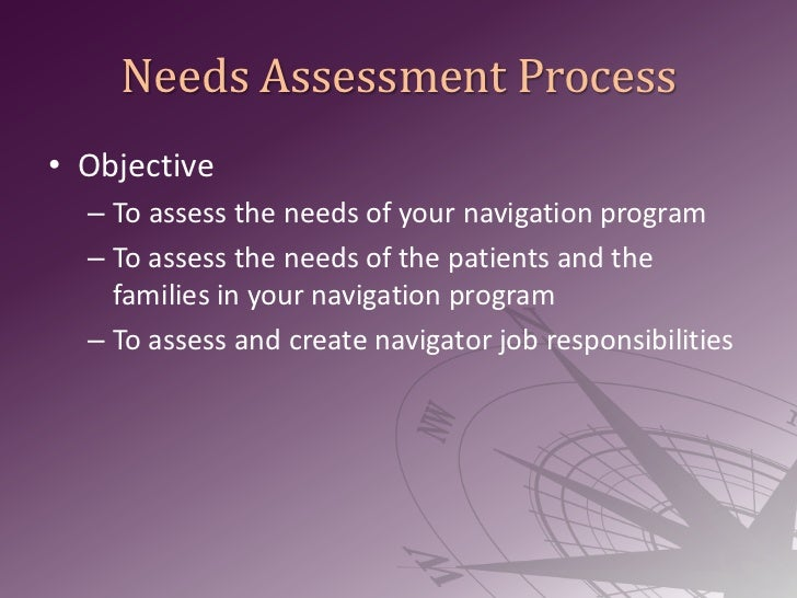 Best Practices: Needs Assessment Process, Data/Metric Tracking, and Survivorship Care Planning Slide 2