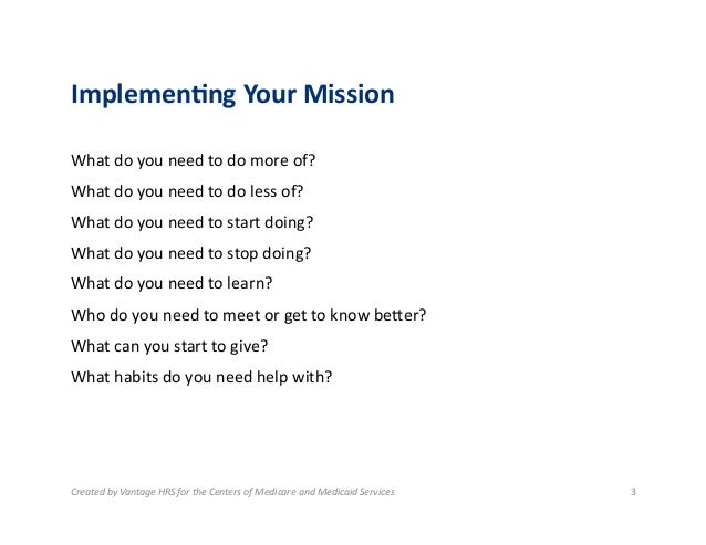 16 Implementing Your Personal Mission Statement – Personal Mission Statement Worksheet
