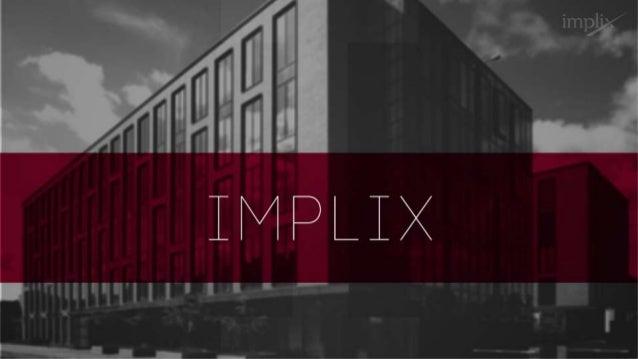 Prezentacja firmy Implix