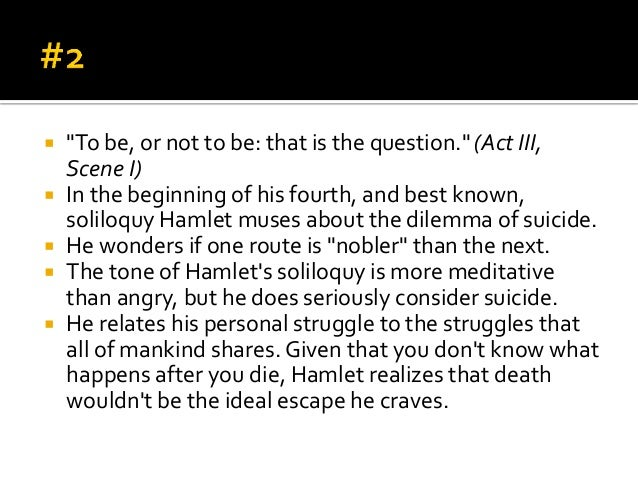 "important quotations in hamlet Hamlet: ""to be, or not to  hamlet: ""laps'd in time and passion, let's go by th'important acting of your dread command  hamlet key quotations."