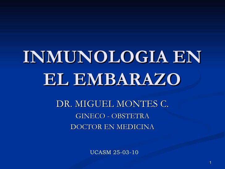 6. inmunologia en el embarazo