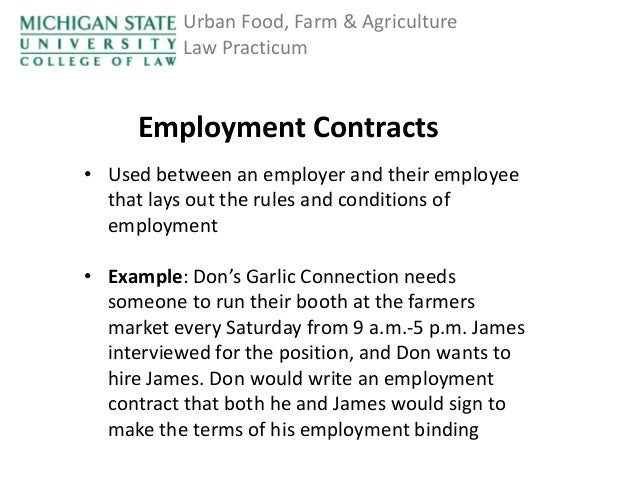 Explain why terms and conditions of employment are important to.
