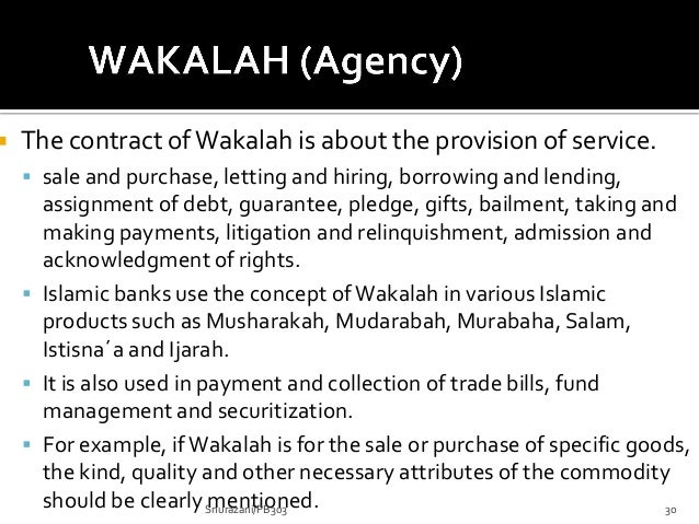 Five Main Contracts in Islamic Finance