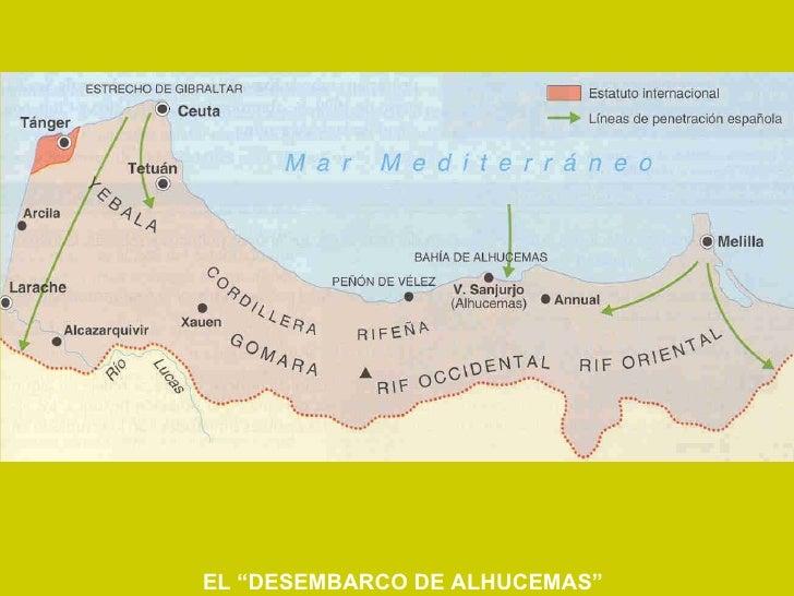"""EL """"DESEMBARCO DE ALHUCEMAS"""""""