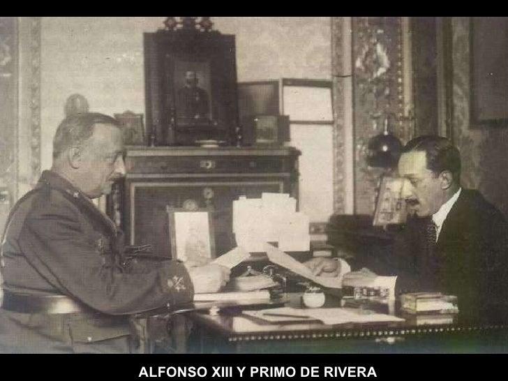 ALFONSO   XIII Y PRIMO DE RIVERA