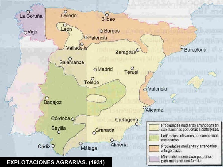 EXPLOTACIONES AGRARIAS. (1931)