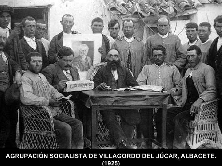 AGRUPACIÓN SOCIALISTA DE VILLAGORDO DEL JÚCAR, ALBACETE. (1925)