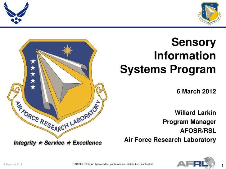 Sensory                                                                            Information                            ...