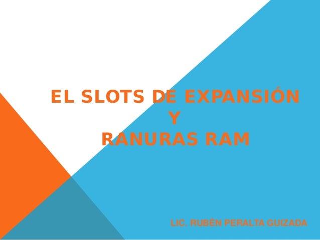 Tipos de ranuras o slots de expansion
