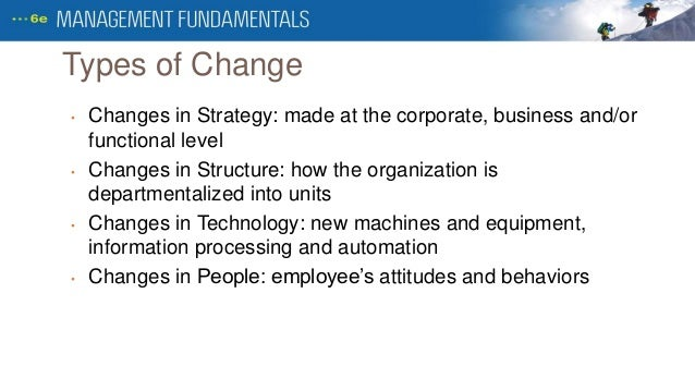 Strategies for entrepreneurship and change management