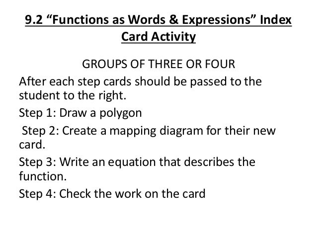 6 Mapping Diagrams Functions As Words Equations Input Output T