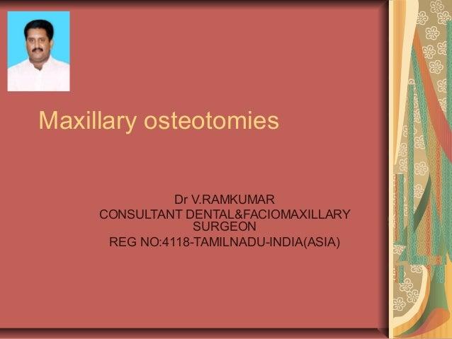 6 maxillary osteotomies