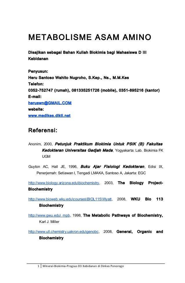 Ppt metabolisme asam amino powerpoint presentation id:5363394.