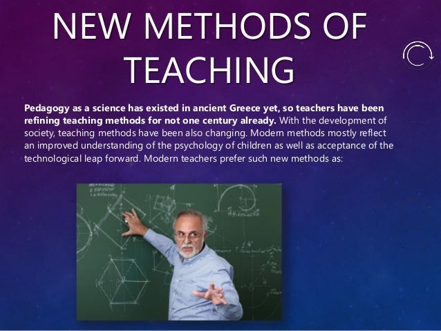 Modern Classroom Teaching Methods ~ Modern teacher skills and methods to improve the