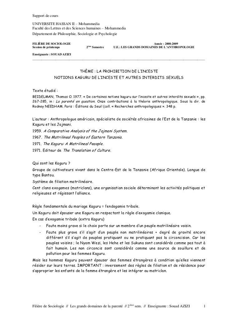 Support de coursUNIVERSITE HASSAN II – MohammediaFaculté des Lettres et des Sciences humaines – MohammediaDépartement de P...