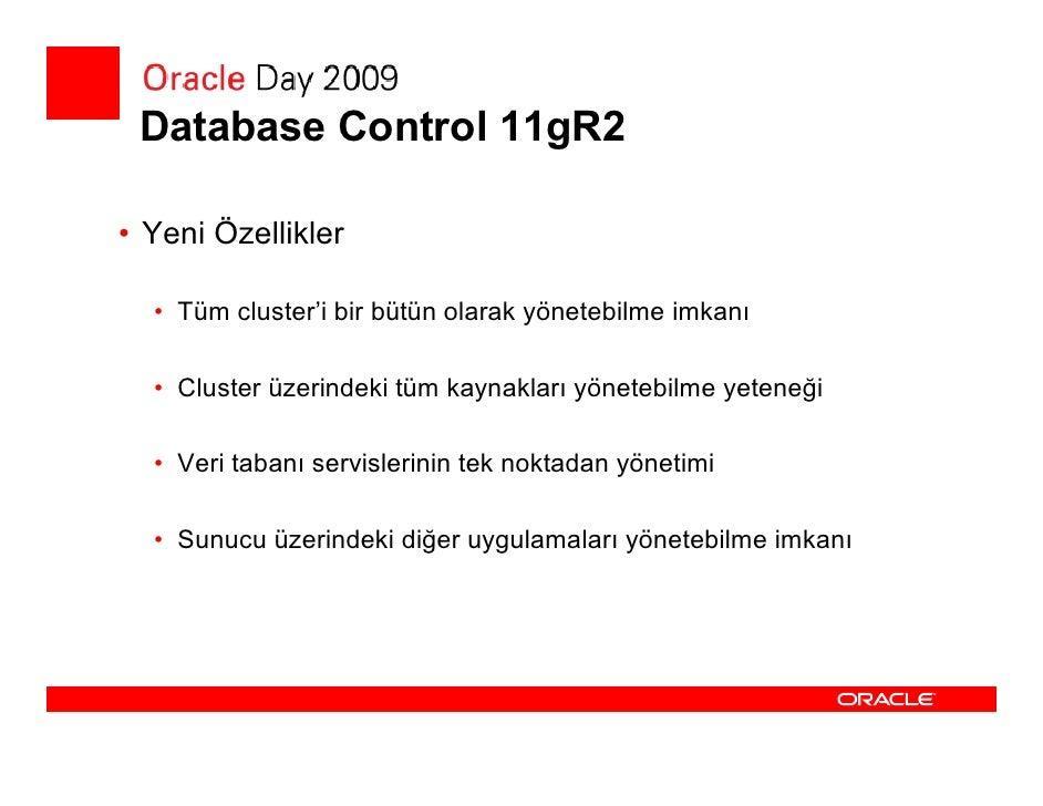 Enterprise Manager Yönetim Paketleri         Oracle Highly Confidential