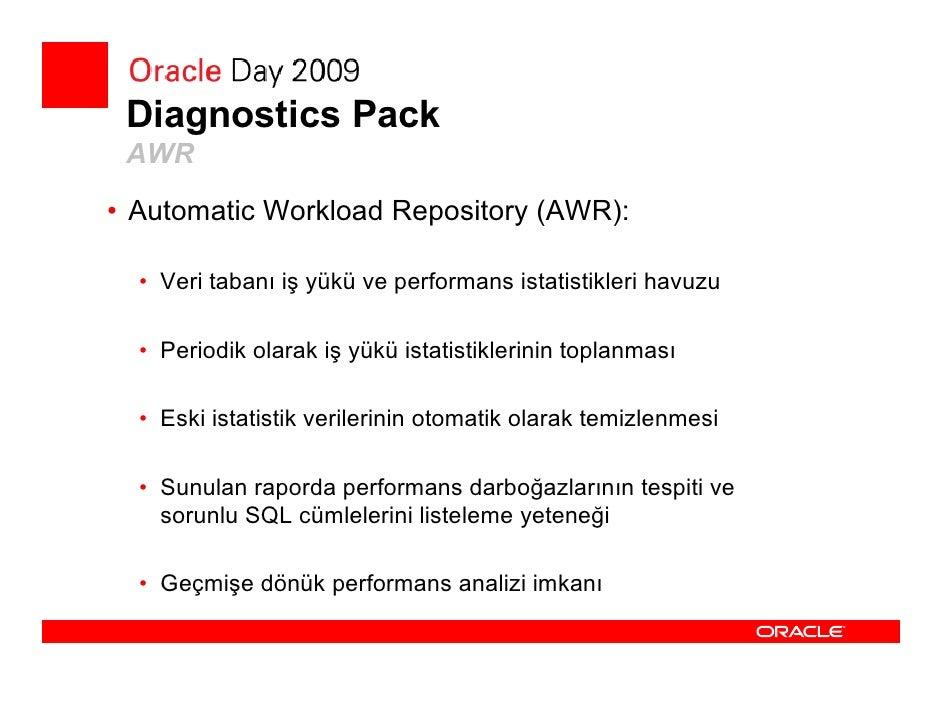 Tuning Pack  • Tuning Pack    •   SQL Tuning Set   •   SQL Tuning Advisor   •   SQL Access Advisor   •   Object Reorganiza...