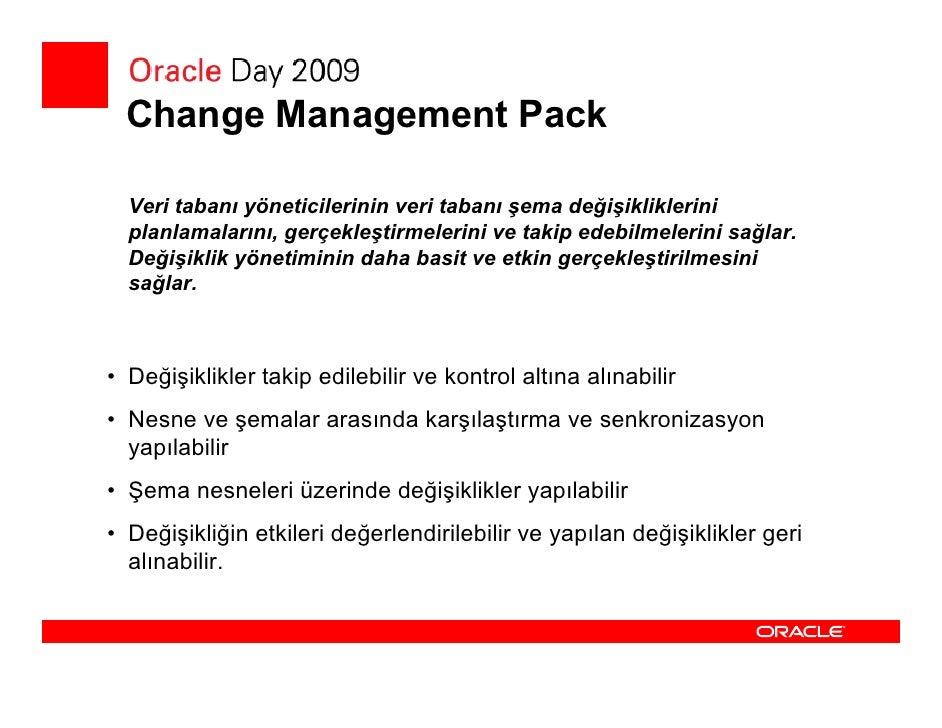 Configuration Management Pack  • Configuration Management Pack sayesinde:    • Sistemler arasındaki ilişkiyi grafik olarak...