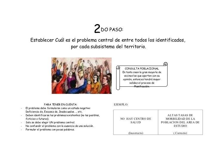 2       DO PASO:        Establecer Cuál es el problema central de entre todos los identificados,                          ...