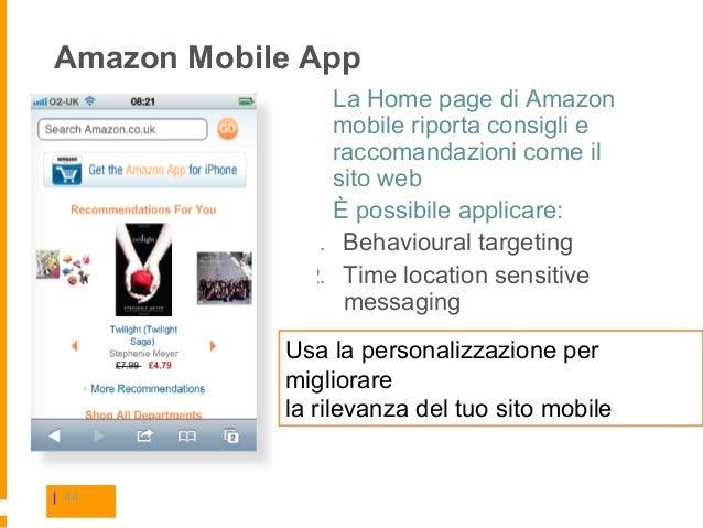 Progettare una mobile web app for App per progettare